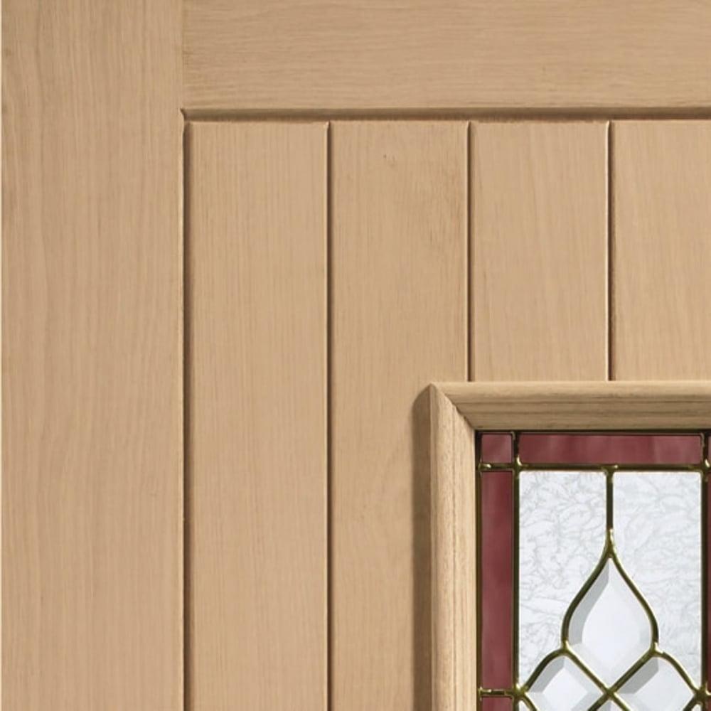 Xl joinery chancery oak external door leader doors for Triple french doors for sale