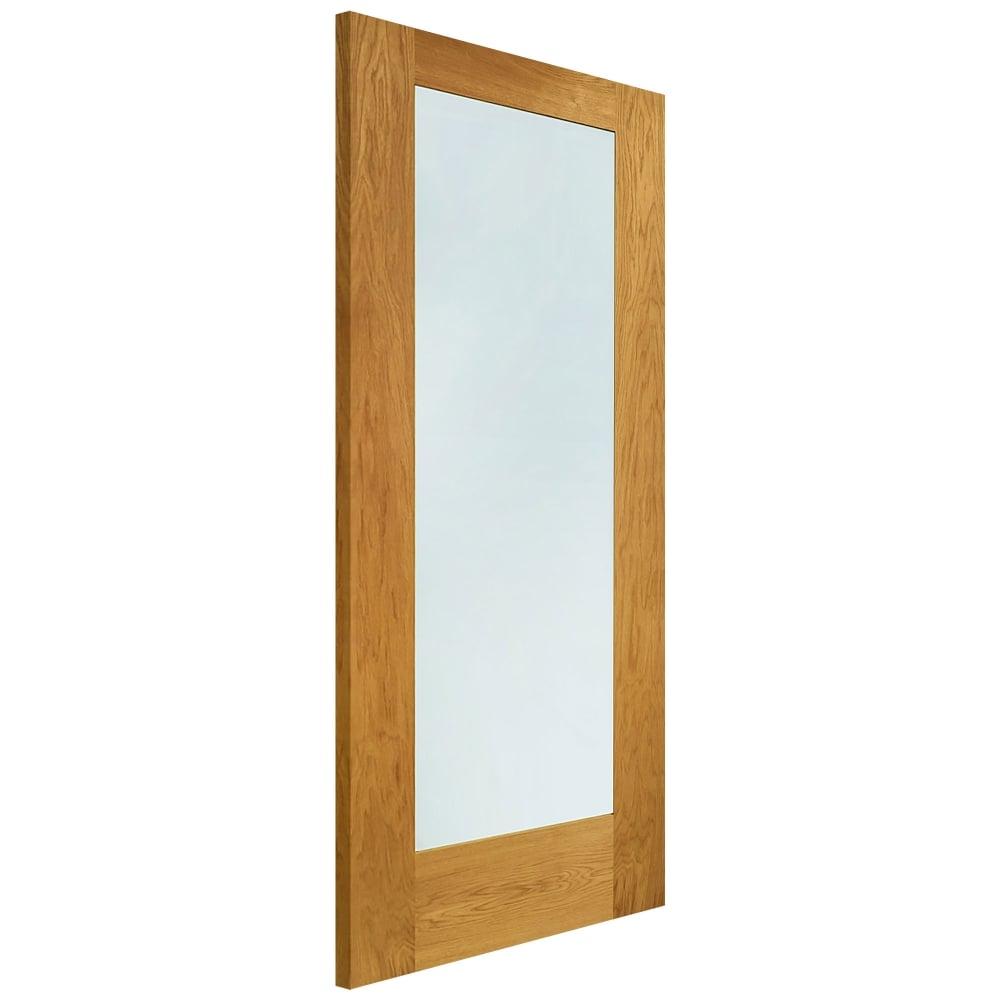 External Oak Pattern 10 Timber Doorset with Clear Glass  sc 1 st  Leader Doors & XL Joinery Pattern 10 Oak Timber Doorset   Leader Doors