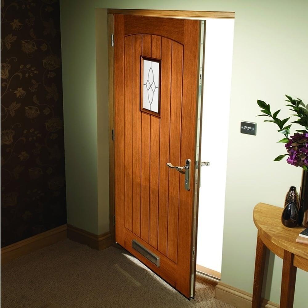 Xl joinery cottage oak external door leader doors for Triple french doors for sale