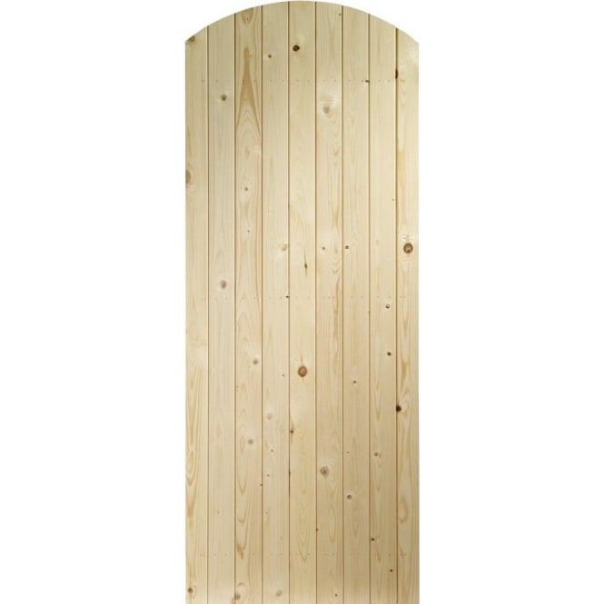 XL Joinery External Pine Un-finished Arch Top Gate