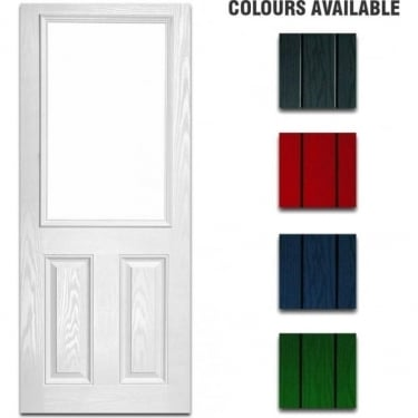 External Pre-Hung 2XG Decorative Composite Doorset