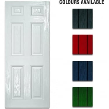 External Pre-Hung Colonial Composite Doorset