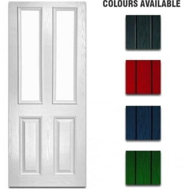 External Pre-Hung Malton Decorative Composite Doorset