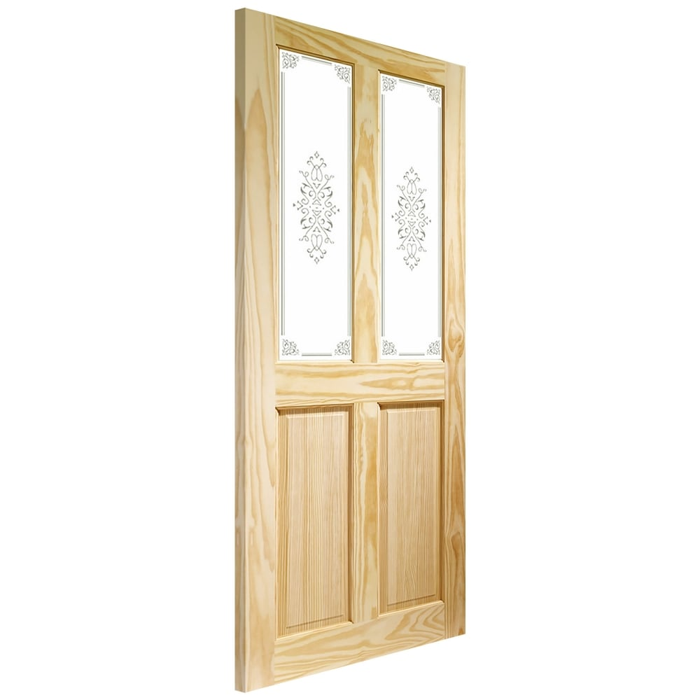 Xl Joinery Victorian Clear Pine Un Finished Decorative