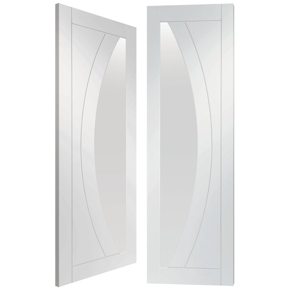 Xl Joinery Internal White Primed Salerno 2l Pair Door With