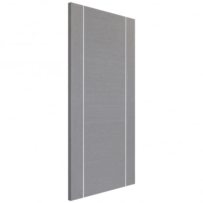 XL Joinery Internal Light Grey Fully Finished Forli Fire Door