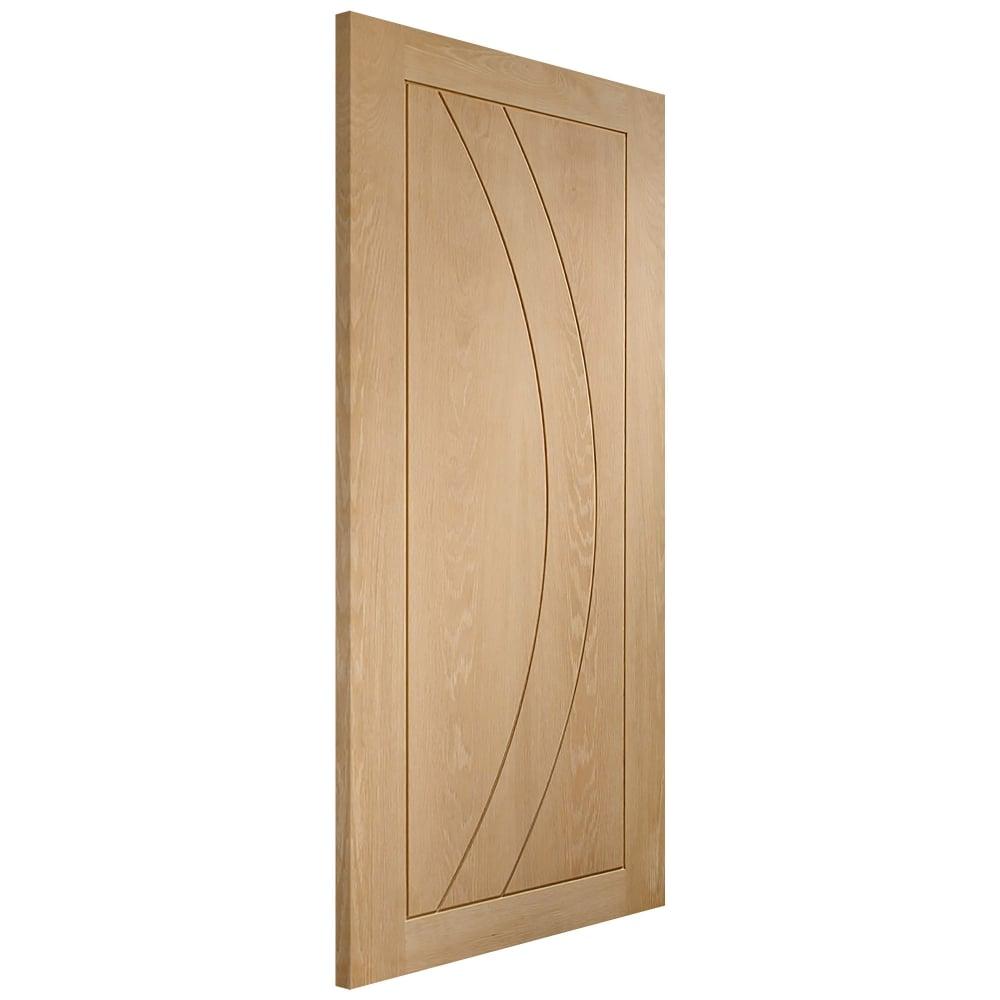 Internal Oak Unfinished Salerno Door  sc 1 st  Leader Doors & XL Joinery Internal Oak Unfinished Salerno Door | Leader Doors