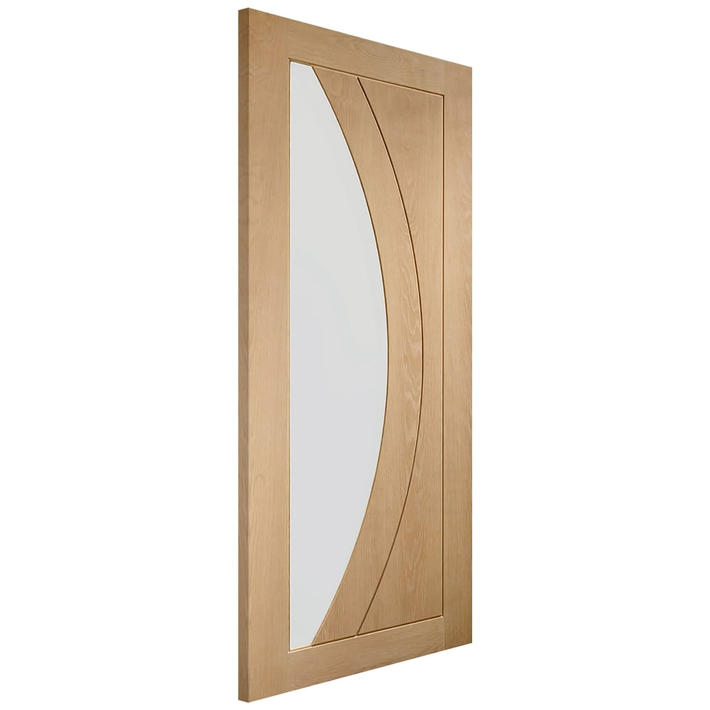 Xl Joinery Internal Oak Unfinished Salerno 1l Door With