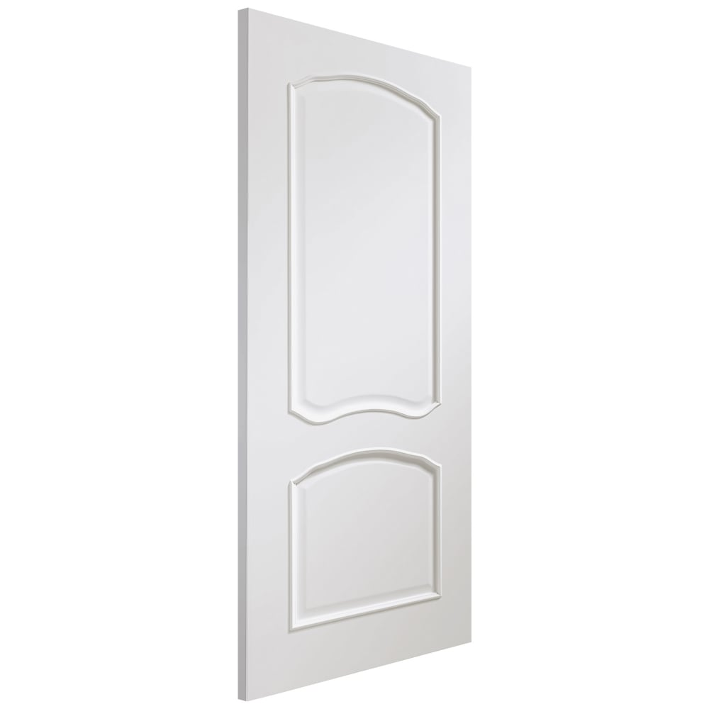 Internal White Fully Finished Louis Door  sc 1 st  Leader Doors & XL Joinery Internal White Fully Finished Louis Door | Leader Doors