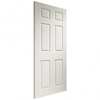 XL Joinery Internal White Moulded Colonist 6 Panel Fire Door