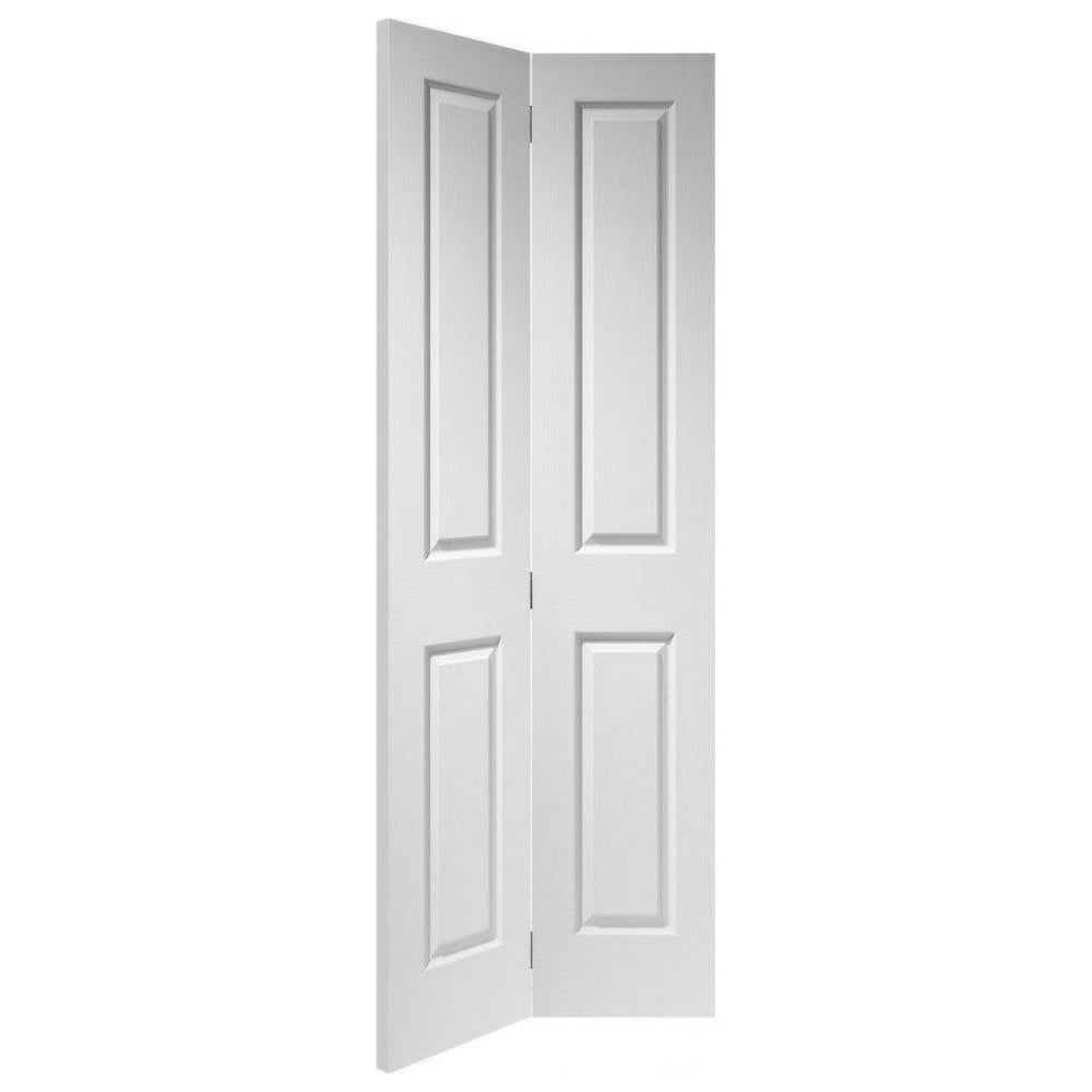 Xl joinery internal white moulded victorian bi fold door for Moulded panel doors