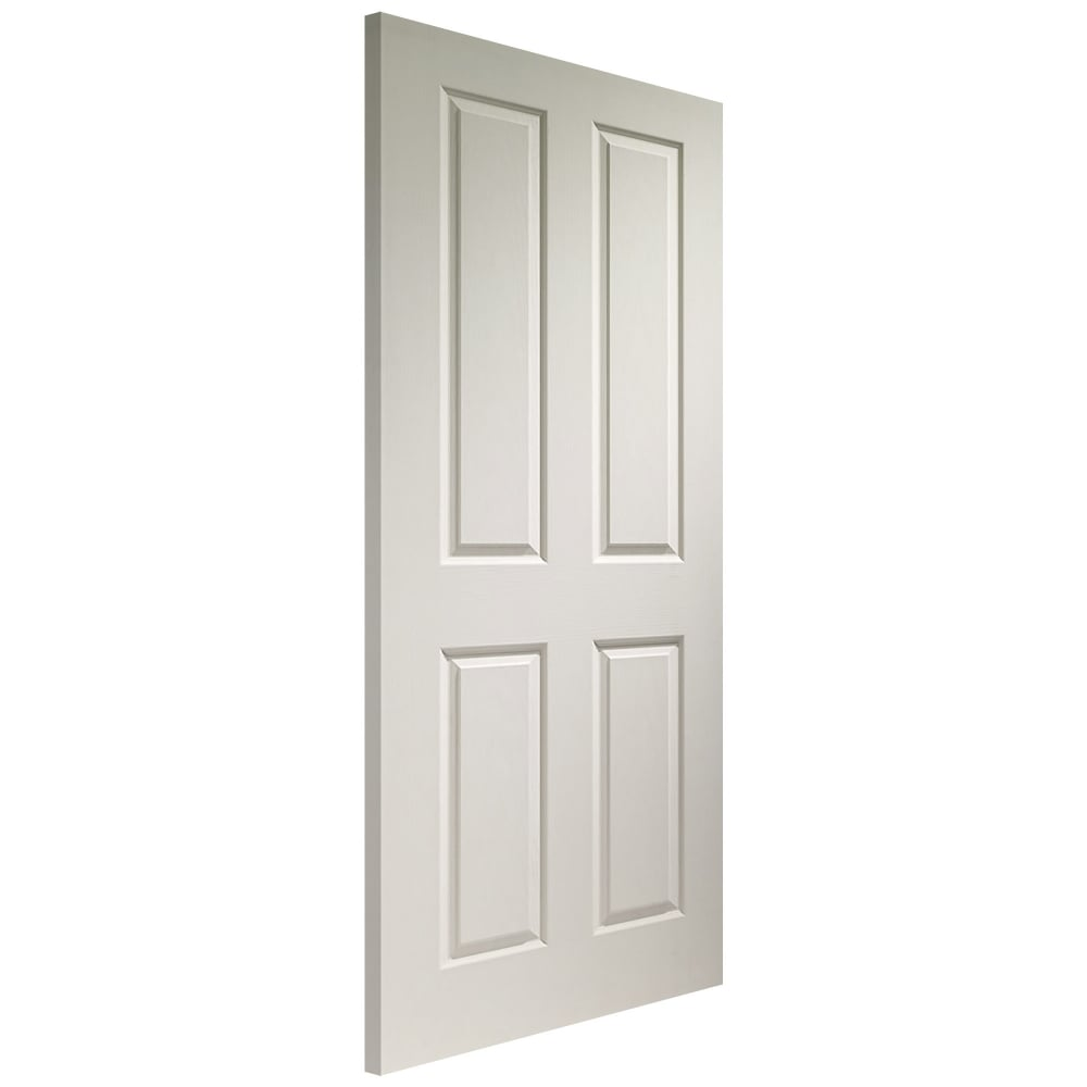 Xl joinery internal white moulded victorian door leader for Moulded panel doors