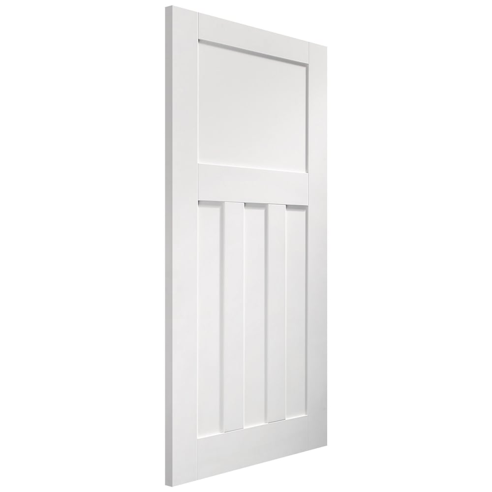 Xl Joinery Dx White Primed Panelled Fd30 Internal Fire