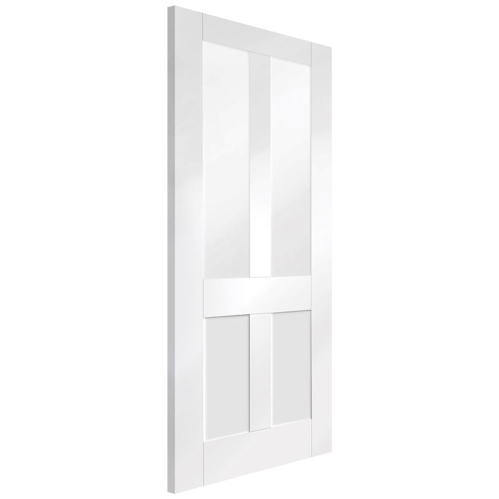white shaker doors xl joinery malton shaker white primed clear glass 1058