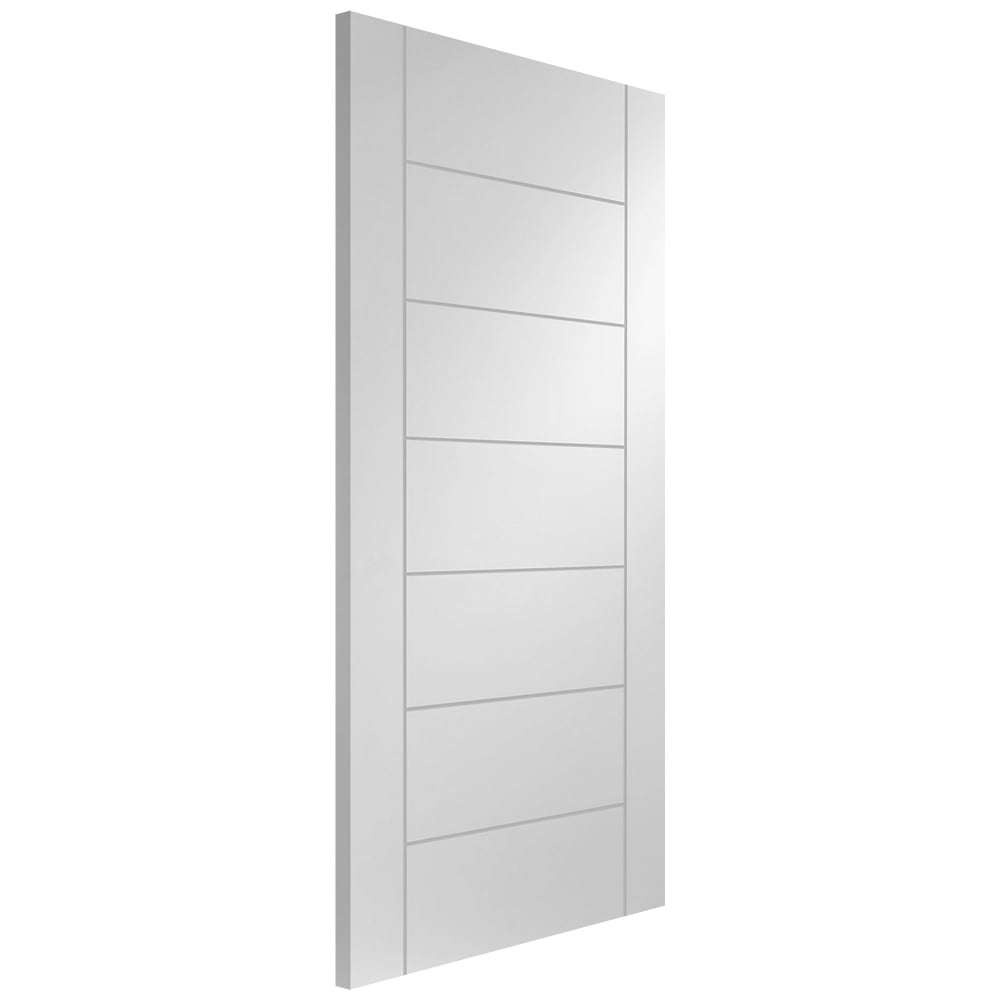 Xl Joinery Internal White Primed Palermo Door Leader Doors