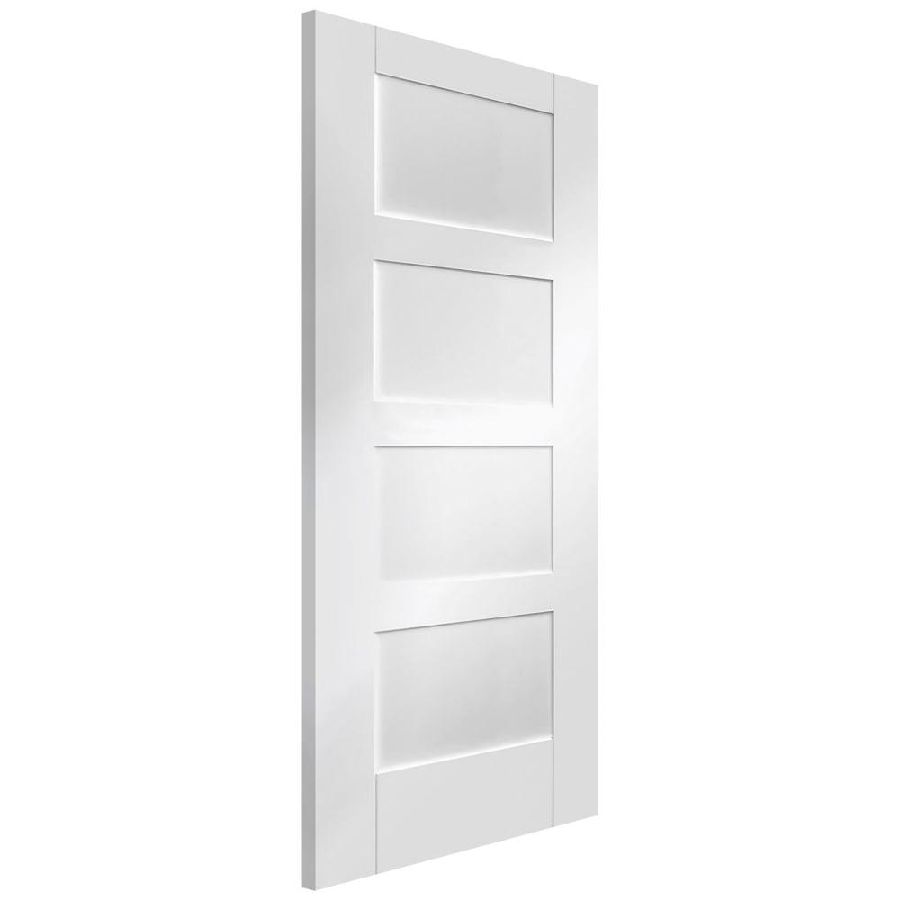 Internal White Primed Shaker Door
