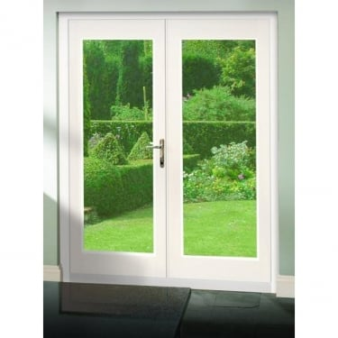 XL Joinery La Porte Pre-finished White French Door Set