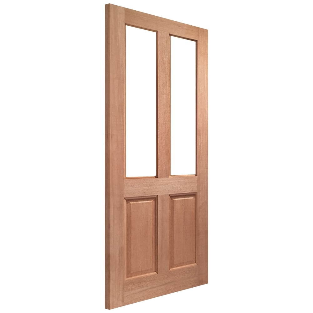 Xl joinery malton hardwood unglazed external door leader for External hardwood doors