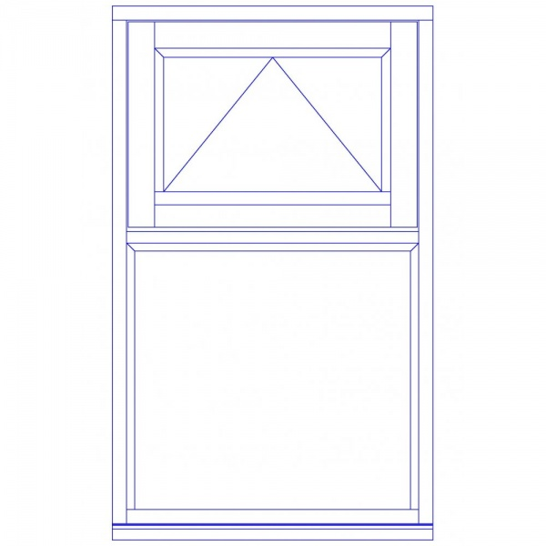 Xl Joinery Timber High Performance White Window 915x1200mm