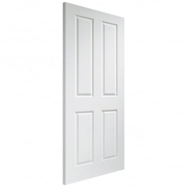 Victorian Fully Finished Internal White Moulded 4 Panel Door